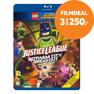 Produktbilde for LEGO Justice League - Gotham Breakout (BLU-RAY)