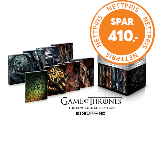 Game Of Thrones - Sesong 1-8: The Complete Series - Limited Steelbook Edition (4K ULTRA HD)