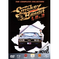 Produktbilde for Smokey & The Bandit 1 - 3 (DK-import) (DVD)
