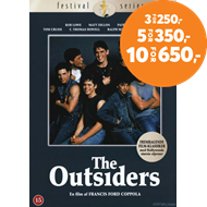 Produktbilde for The Outsiders (DK-import) (DVD)