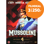 Produktbilde for Mussolini - The Untold Story (DK-import) (DVD)