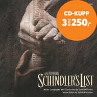 Produktbilde for Schindler's List (CD)
