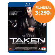 Produktbilde for Taken - Extended Cut (DK-import) (BLU-RAY)