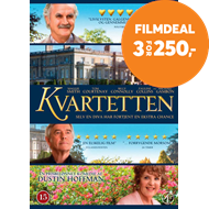 Produktbilde for The Quartet (2012) / Kvartetten (DK-import) (DVD)