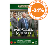 Produktbilde for Midsomer Murders - Box 37 (DVD)