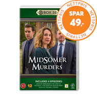 Produktbilde for Midsomer Murders - Box 38 (DVD)