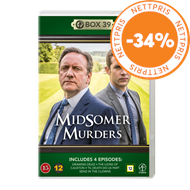 Produktbilde for Midsomer Murders - Box 39 (DVD)