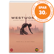 Produktbilde for Westworld - Sesong 3 (DVD)