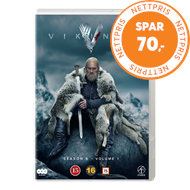 Produktbilde for Vikings - Sesong 6 - Del 1 (DVD)