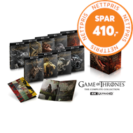Produktbilde for Game Of Thrones - Sesong 1-8: The Complete Series (4K ULTRA HD)
