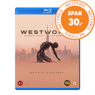 Produktbilde for Westworld - Sesong 3 (BLU-RAY)