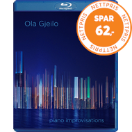 Produktbilde for Ola Gjeilo - Piano Improvisations (SACD-Hybrid + Pure Audio Blu-ray)