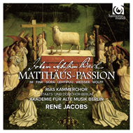 Produktbilde for Bach: St. Matthew Passion (2CD)