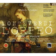 Produktbilde for Monteverdi: L'Orfeo (CD)