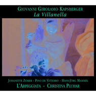 Produktbilde for Kapsberger: La Villanella (CD)