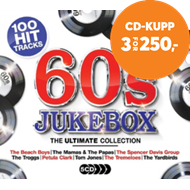 Produktbilde for Ultimate 60s Jukebox (5CD)