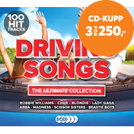 Produktbilde for Ultimate Driving Songs (5CD)