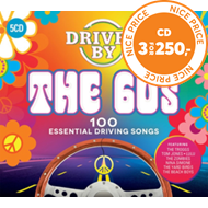 Produktbilde for Driven By The 60s (5CD)