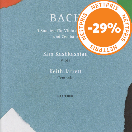 Bach: 3 Sonatas For Viola Da Gamba And Harpsichord (CD)