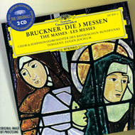 Produktbilde for Bruckner: Masses Nos 1-3 (2CD)