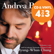 Produktbilde for Andrea Bocelli - Sacred Arias (CD)