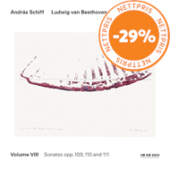 Produktbilde for Beethoven:The Piano Sonatas, vol 8 (CD)