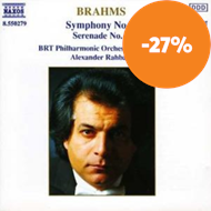 Produktbilde for Brahms: Symphony No 2 & Serenade No 2 (CD)