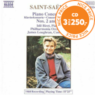 Produktbilde for Saint-Saëns: Piano Concertos Nos 2 and 4 (CD)