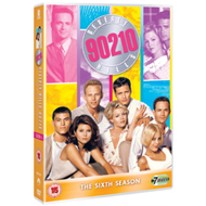 Produktbilde for Beverly Hills 90210 - Sesong 6 (UK-import) (DVD)