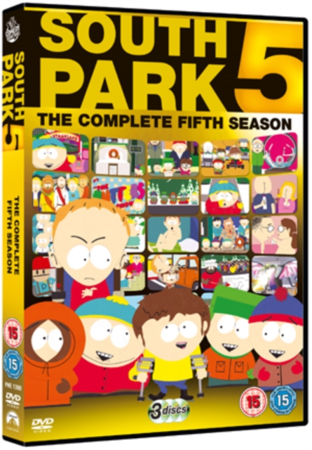 South Park Sesong 1 5 (UK import) (DVD)