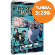 Produktbilde for The Legend Of Korra - Book One: Air (UK-import) (DVD)