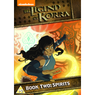 Produktbilde for The Legend Of Korra - Book Two: Spirtis (UK-import) (DVD)