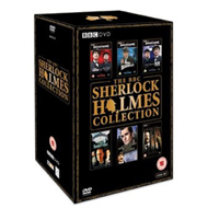 Produktbilde for The BBC Sherlock Holmes Collection (UK-import) (DVD)