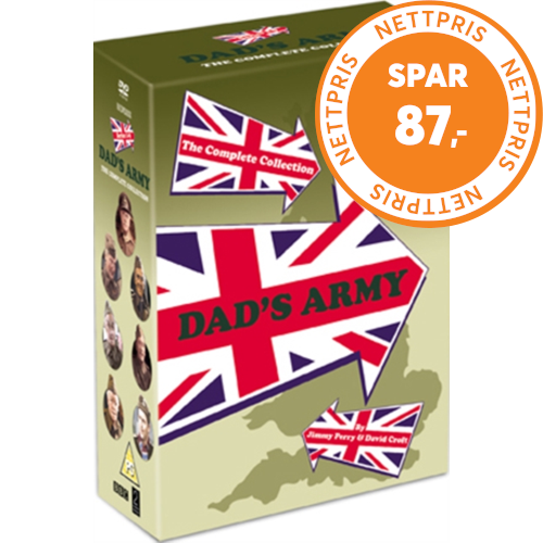 Dad's Army - The Complete Collection (UK-import) (DVD)