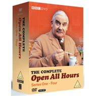 Produktbilde for Open All Hours - Sesong 1 - 4 (UK-import) (DVD)