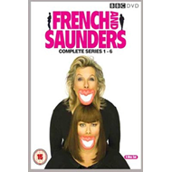 Produktbilde for French And Saunders - Serie 1 - 6 (UK-import) (DVD)
