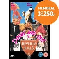 Produktbilde for Down And Out In Beverly Hills (1986) / På Bommen I Beverly Hills (UK-import) (DVD)