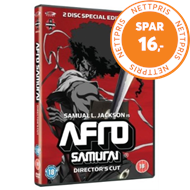 Produktbilde for Afro Samurai - Sesong 1 - Director's Cut (UK-import) (DVD)