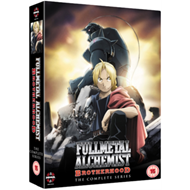 Produktbilde for Fullmetal Alchemist: Brotherhood - The Complete Series (UK-import) (DVD)