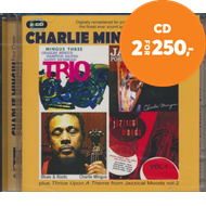 Produktbilde for Four Classic Albums Plus (Blues And Roots/Mingus Three: Trio/Jazz Portraits/Jazzical Moods Vol. 1) (2CD)