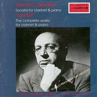 "Produktbilde for Copland/""Les Six"": Clarinet Works (USA-import) (CD)"