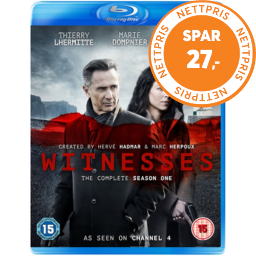 Witnesses  - Sesong 1 (UK-import) (BLU-RAY)