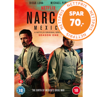 Produktbilde for Narcos: Mexico - Sesong 1 (UK-import) (DVD)