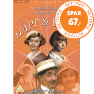 Produktbilde for Mapp And Lucia - The Complete Series (UK-import) (DVD)