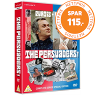 Produktbilde for The Persuaders - The Complete Series (UK-import) (DVD)