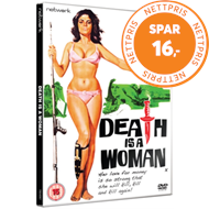 Produktbilde for Death Is A Woman (UK-import) (DVD)