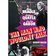 Produktbilde for The Man Who Wouldn't Talk (UK-import) (DVD)