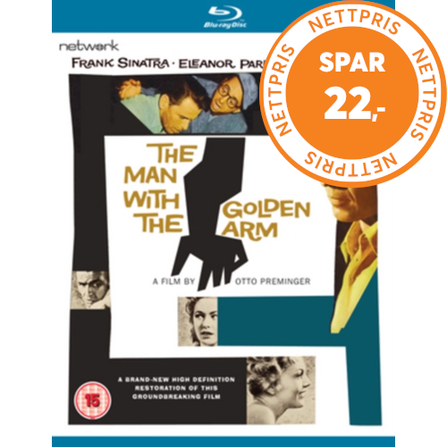 The Man With The Golden Arm (UK-import) (BLU-RAY)