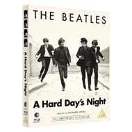 Produktbilde for The Beatles - A Hard Day's Night - 50th Anniversary Restoration (UK-import) (BLU-RAY)