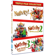 Produktbilde for Nativity Triple Pack (UK-import) (DVD)